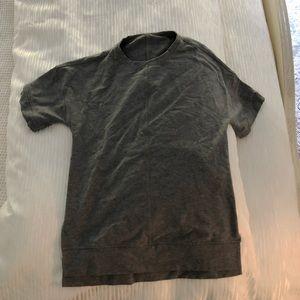 LULU LEMON short sleeve sweatshirt